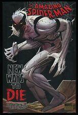 Amazing Spider-Man New Ways to Die NYCC VARIANT Hardcover Rare HC HB Anti-Venom