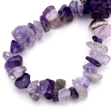 Amethyst Agate Gemstone Chip Beads One Strand (250 bead approx) J23926XB