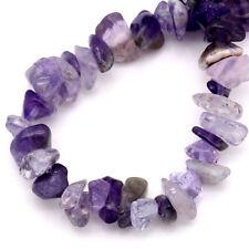 Amethyst Agate Gemstone Chip Beads One Strand (250 bead approx) J23926XB