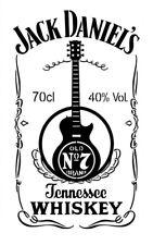 high detail airbrush stencil jd guitar FREE UK POSTAGE