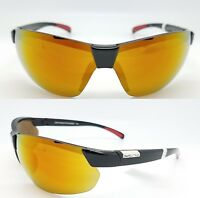 a62cfea7cac NEW Suncloud sunglasses Switchback Black Red Mirror Polarized Unisex Large  Fit