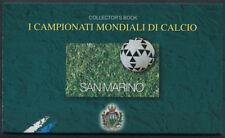 San Marino 1998 Sass. 5 Booklet 100% MNH France ' 98, soccer