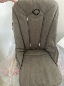 Bugaboo Fox seat fabric Mineral Taupe melange New