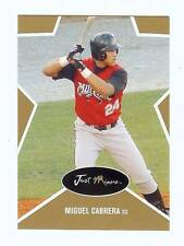 MIGUEL CABRERA 2003 JUST MINORS GOLD EDITION ROOKIE CARD! #'d OF 1000! MVP!!