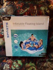 Crane Sports Large Inflatable Floating Island