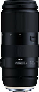 Tamron 100-400mm F4.5-6.3 Di VC USD Canon Fit Lens