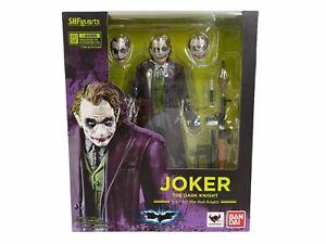 BANDAI S.H.Figuarts DC Batman Dark Knight JOKER Heath Ledger Action Figure NIB!