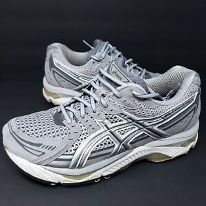 Asics Gel Evolution 6 Women's Gray Silver Athletic Running Shoes Sz 9D T165N