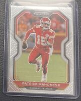 2020 Panini PRIZM Patrick Mahomes II Base Card No. 124 Kansas City Chiefs