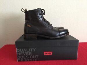 Levi's 225115-825 Emeron Herren Schuhe Stiefel Boots Braun Gr: wählbar neu in Ka