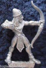 1990 Mar Elf Mm82 se 10 Marauder elfos ejército acuático Warhammer Citadel AD&D Metal