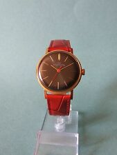 LUCH (POLJOT) Authentic  USSR  GOLD PLATED Cal 2209 (SERVICED,OILED)