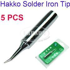 5PCS Solder Iron Point Tip For Hakko Soldering Rework Atten Quick Station T-IS