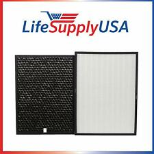Hepa & Carbon Filter Set fits Rabbit Air BioGs Spa-421A & Spa-582A Air Purifiers