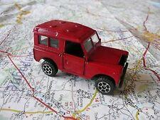 LAND ROVER 88 Rouge Ancienne POLISTIL