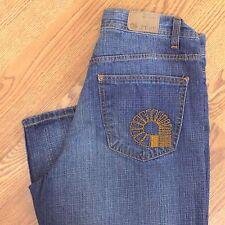 Akademiks Jeans 34 Men's Hip Hop Baggy Streetwear Size 34x33