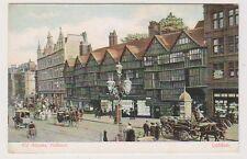London postcard - Old Houses, Holborn (A64)