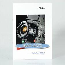Original Rollei Prospekt - Rolleiflex 6008 AF ( NEU )