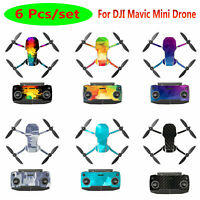 Pour DJI Mavic Mini Drone Body Remote Control Sticker PVC Protector Film Decals