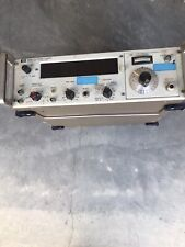 Hp 5245l Electronic Counter With 5245a Frequency Converter With Nixie Tubes