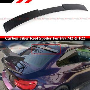 FOR 2014-2020 BMW F22 2 SERIES F87 M2 M2C CARBON FIBER REAR ROOF WINDOW SPOILER