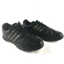 6f7eeab3a8b Men s Adidas Adicomfort 2 Golf Shoes Sneaker Size 12 Black Leather  Softspikes