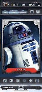Topps Star Wars Digital Card Trader Red R2-D2 A Galaxy Divided Insert