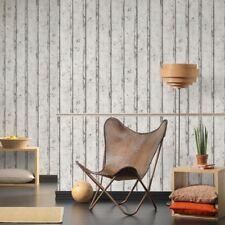 Rustikale Planken Tapete Weiß - As Kreation 953701 Texturiert