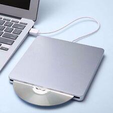 New Portable USB External DVD CD RW ROM Drive Burner Writer Windows Mac Linux