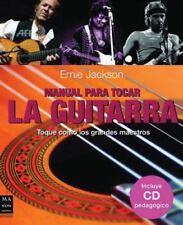 MANUAL PARA TOCAR LA GUITARRA 2 - CON CD (Spanish Edition)-ExLibrary