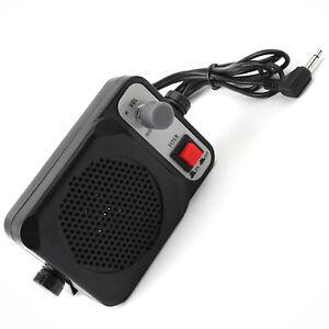TS-650 External Speaker For Yaesu Kenwood ICOM Motorola Radio 3.5mm