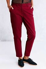 NEW FRED PERRY  PIN DOT CHINO PANTS SIZE US 10 EUR 42 UK 14