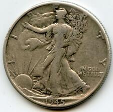 1945 Walking Liberty Half Dollar - (#JM)