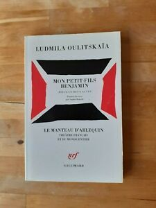 Ludmila Oulitskaïa - Mon petit-fils Benjamin ; pièce en deux actes - Gallimard