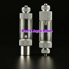 Aluminium High Quality Aquarium CO2 Regulator Bubble Counter with Check Valve