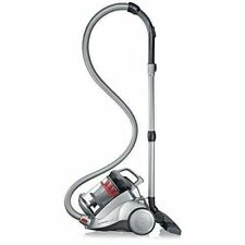 Polar Silver Nonstop Corded Low-Noise Bagless Canister Vacuum Cleaner