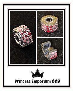Genuine Authentic Pandora Burst of Love Clip Item 796594ENMX