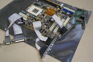 Socket PGA 370 baby AT motherbaord mainboard PCI  VGA audio integrated