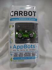 Desk Pets CarBot Micro Robotic Race Car, Green, 1072B, AppBots, IPhone, Android