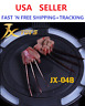 IN STOCK 1/6 SCALE Logan Wolverine  Metal Claw Hands w/ BLOOD stains Worldbox