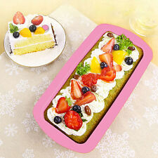 Silicone Bread Loaf Cake Mold Non-Stick Bakeware Baking Pan Oven Mould Kitchen