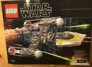 Lego 75181 Star Wars Ultimate Collector Series Y-Wing Starfighter Toy