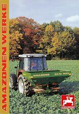 AMAZONE ZA-M MAX PRESSE prospectus 6/96 Brochure Brochure 1996 Allemagne