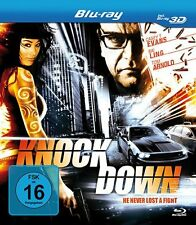 Knockdown: Never Lost a Fight in 3D ( Mystery-Thriller BLU-RAY )mit Bai Ling NEU