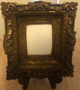VTG Wooden Italian Style Ornate Gold Gilt Frame Beautiful!