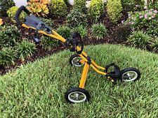 New listing **Sun Mountain Speedcart Black And Yellow Push Pull Cart Golf Walking