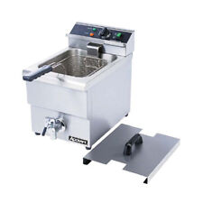 Adcraft DF-6L Single Electric Countertop Deep Fryer With Faucet