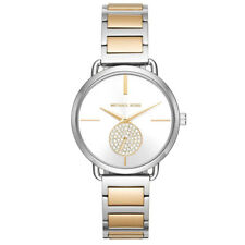 Michael Kors MK3679 Portia Crystallized Steel Silver Dial 37mm Women's Watch