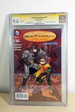 Batman Incorporated #8 CGC SS 9.6 NM+ Death of Robin Signed by Chris Burnham