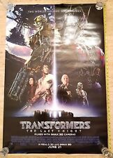 NEW TRANSFORMERS LAST KNIGHT DS AUTHENTIC ORIGINAL Theater 27x40 Movie Poster